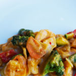 Garnalen thais Curry
